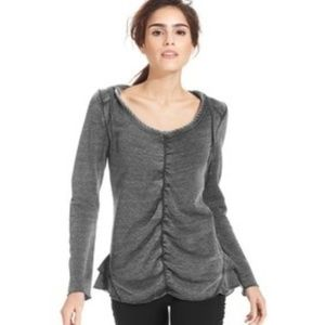 Calvin Klein Marle Quick Dry Ruched Hoodie